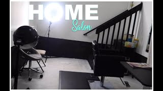 In Home Salon|How I Turned My Garage Into A Salon❗️