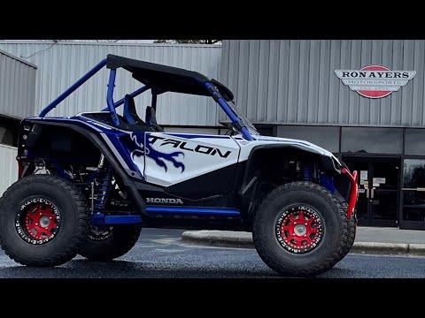2021 Honda Talon 1000X FOX Live Valve in Greenville, North Carolina - Video 1