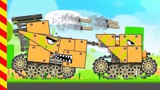 Танк мультик. Стальные Танк для детей. Мультик про сражение Танков. Строим стальные монстры