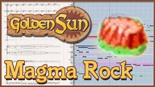 "New Arrangement: ""Magma Rock"" from Golden Sun: The Lost Age (2002)"