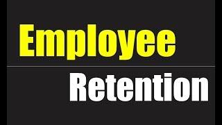 What is Employee Retention | Basic Concept of Employee Retention |  Urdu - Hindi 2018