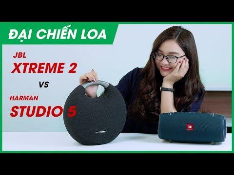 [Đại chiến loa] JBL Xtreme 2 vs Harman Kardon Onyx Studio 5 l Loa nào hơn?