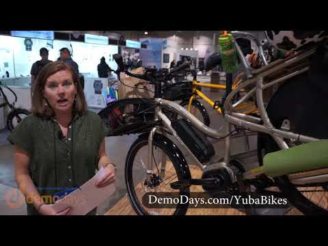 Yuba Bikes Boda Boda Cargo Bike with Shimano Steps Electric Motor