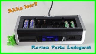 VARTA LCD Multi Ladegerät für 8 AA/AAA Akku - Akku leer?? Review