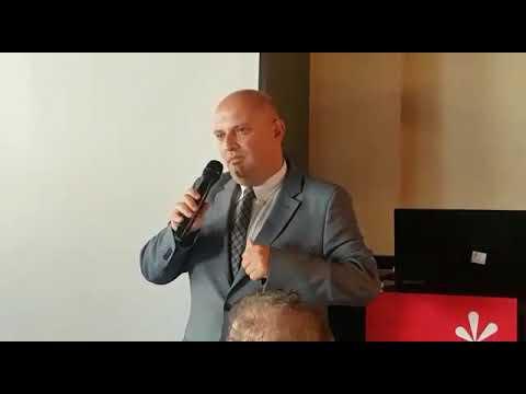 סגן שגריר גיאורגיה באירוע משרד התיירות של גיאורגיה בישראל