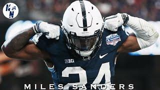 "Miles Sanders Penn State 2018 Hype / Highlight Mix      "" God's Plan ""  ᴴᴰ"