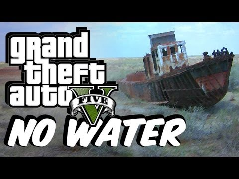 The Ocean Has Evaporated In This Grand Theft Auto V Mod