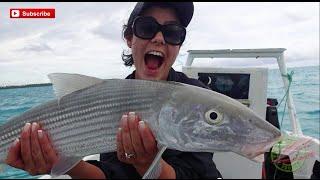 Monster BoneFish Fishing Aitutaki Cook Islands