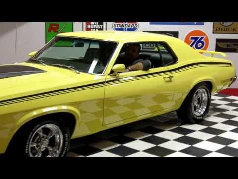 1970 Mercury Cougar Boss 302 Classic Muscle Car