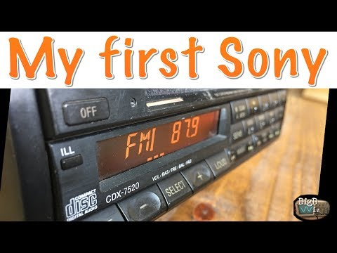 1990 Sony CDX-7520 CD Tuner Review and Test