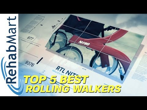 Top 5 Best Rollators or Rolling Walkers - Lightweight, Stylish, & Compact