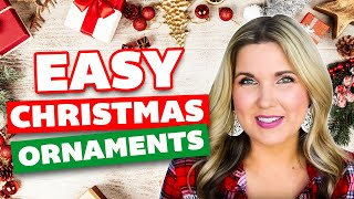 Easy Christmas Ornaments 🎄 Handmade Christmas Crafts DIY 🎄