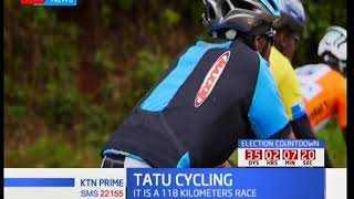 Over 140 cyclists take part in the 1st edition of the Tatu City race