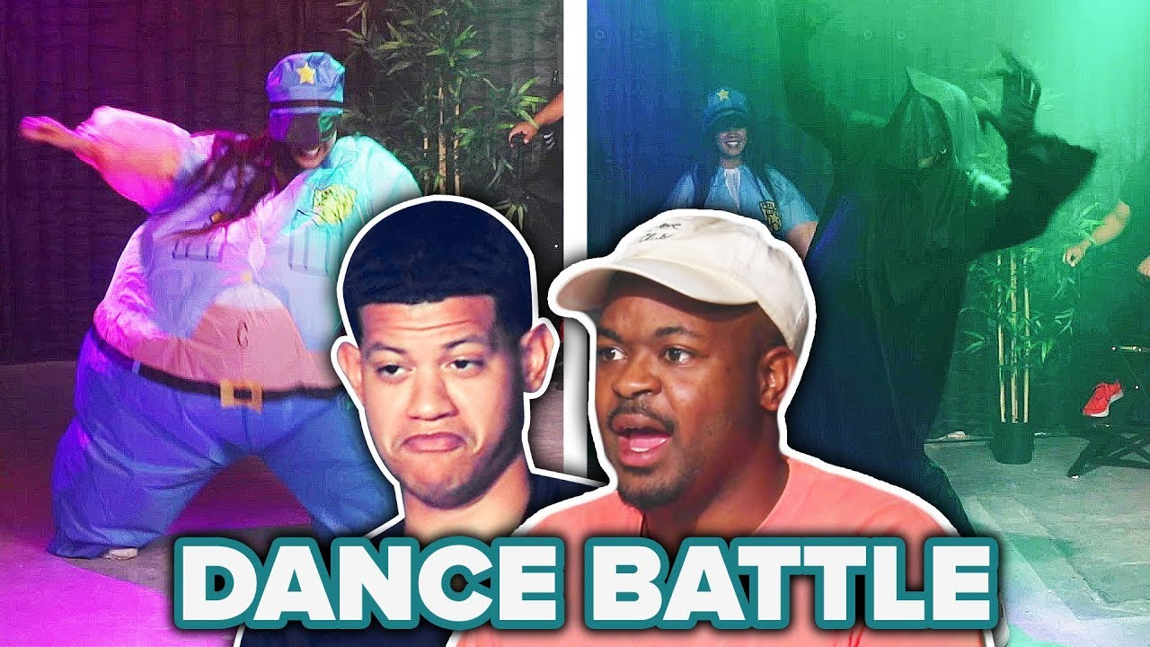 Amateur Vs. Pro Costume Dance Contest thumbnail