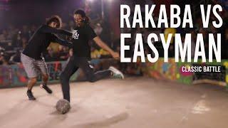 Easyman vs Ahmed Rakaba   Classic Street Football Match