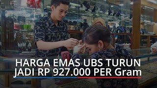 Harga Emas Kamis 25 Februari 2021 di Pegadaian Padang, Emas UBS Turun Menjadi Rp 927 000 per Gram