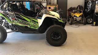 2018 Polaris RZR XP Turbo Dynamix w/ Maxxis Coronada Tires - hmong video