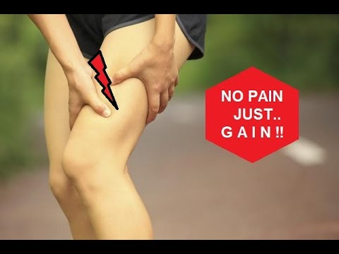 Video Treatment exercises for thigh after muscle strain (quadriceps, hamstrings)