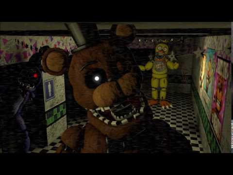 SFM Animation Test] Five Nights at Freddy's 2 Camera - смотреть
