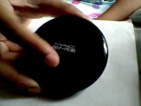 Prep + Prime Transparent Finishing Powder by MAC #4