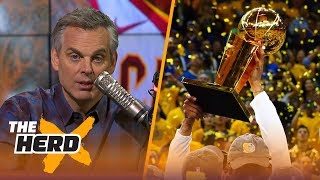 Colin Cowherd makes his 1st round predictions for the 2018 NBA Playoffs | THE HERD - Video Youtube
