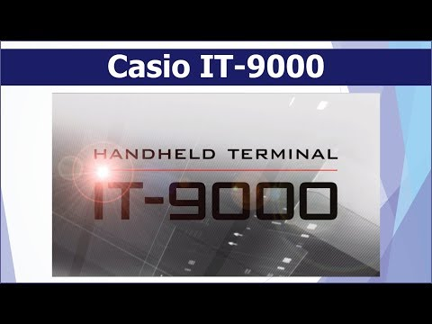 Casio IT-9000 All-In-One Printer Terminal