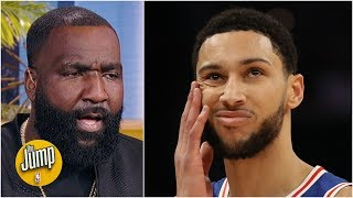 What Ben Simmons said about playing with Joel Embiid is BS - Kendrick Perkins | The Jump