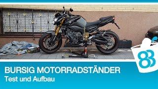 Bursig Motorradständer - Bursig Montageständer - Bursig Zentralständer