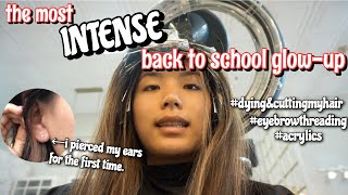 the most INTENSE back to school glow-up EVER   Vanessa Nagoya