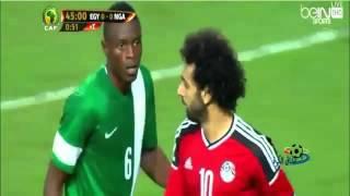 ملخص مباراه مصر و نيجيريا 1-0 هدف رمضان صبحي تصفيات كأس امم افريقيا 2016