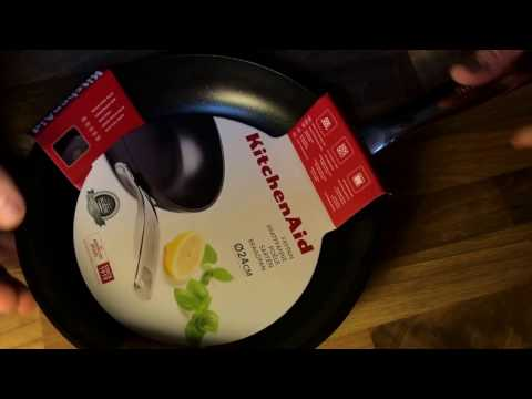 KitchenAid Bratpfanne, Ø 24 cm unboxing und Anleitung