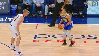 Stephen Curry's Long Distance Shooting Is Unfair! Warriors vs Nuggets