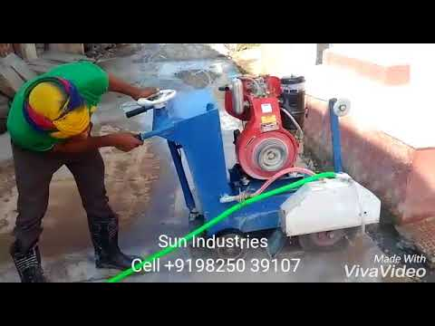 10 HP Diesel Groove Cutting Machine