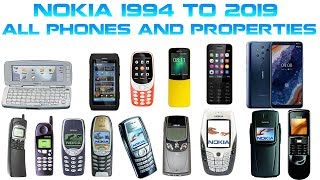 All Nokia Phone Series and Features 1994 - 2019 (Full)