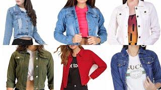 Trendy Girls Denim Jacket Outfits Idea 2020 |New Girls Denim Jackets | Stylish Jeans Jackets Denim