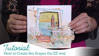 How to Create Sea Scapes the EZ Way