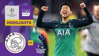 Ajax Amsterdam 2-3 Tottenham | Champions League Highlights