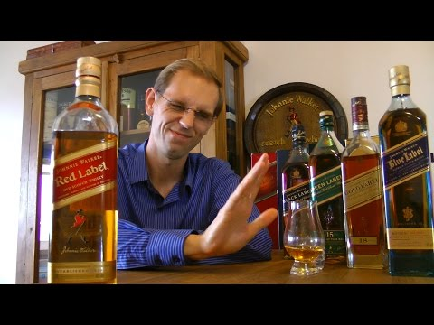 Degustando #031: Whisky Review Johnnie Walker Red Label