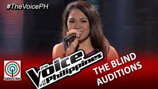 "The Voice of the Philippines Blind Audition ""Listen"" by Mecerdita Quiachon (Season 2)"
