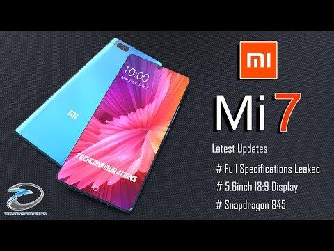 Uno Xiaomi Mi 7 esagerato in questo nuovo concept