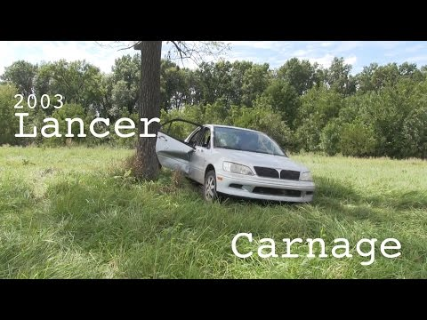 The Mitsubishi Lancer Destruction Review