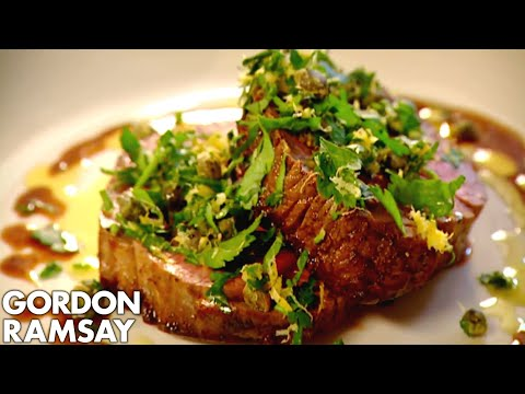 Fillet Steak with Gremolata | Gordon Ramsay