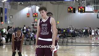 2021 6'10 Carson Basham Highlights @ Adidas Gauntlet Series (Atlanta)