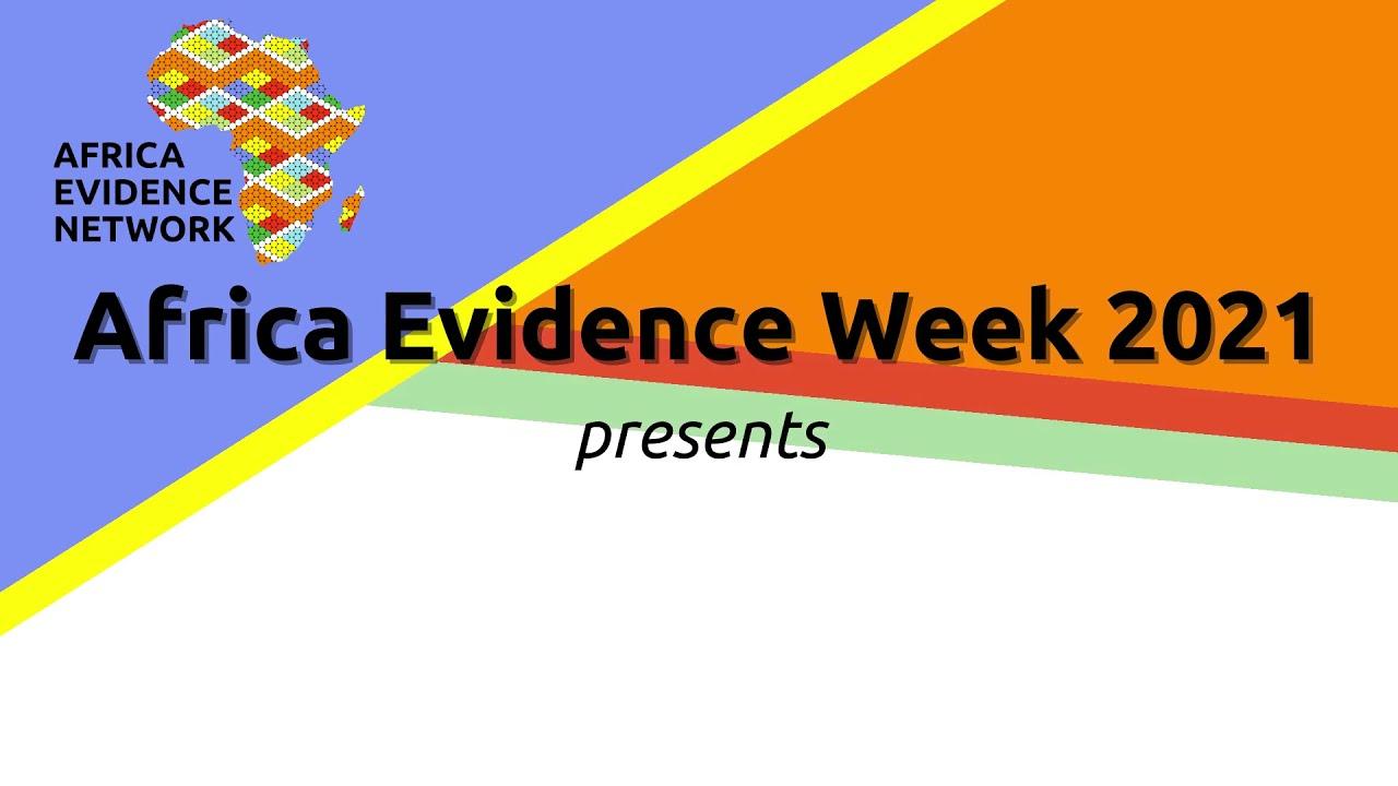 Africa Evidence Week 2021: Emerging EIDM leader_Nain Mirabel Yuh: why I fell in love with EIDM