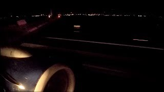 Delta 737-800 Night Landing in Salt Lake City