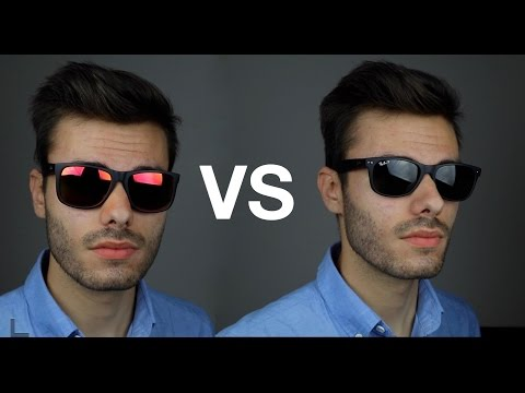 Ray-Ban Justin vs New Wayfarer