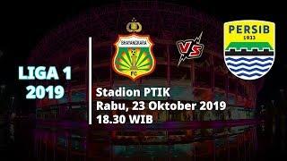 VIDEO: Live Streaming Liga 1 2019 Bhayangkara FC Vs Persib Bandung Rabu (23/10) Pukul 18.30 WIB
