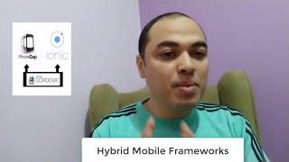 برمجة تطبيقات الهواتف الذكية - hybrid mobile frameworks