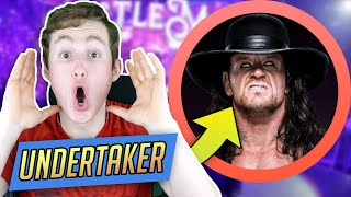 MMA FAN REACTS TO THE UNDERTAKER FOR THE FIRST TIME