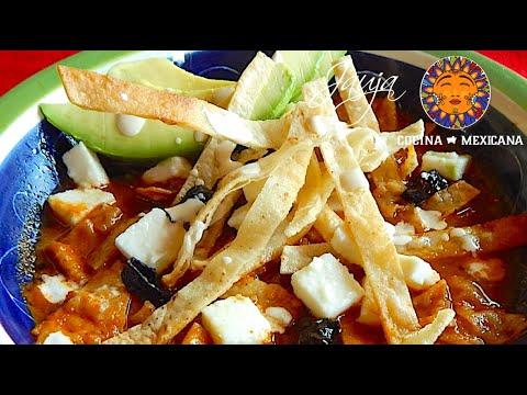 Tortilla Soup. Mexican Tortilla Soup Recipe